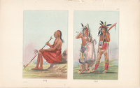 George Catlin Plates 262 and 263