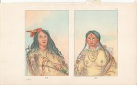 George Catlin Plates 115 and 116